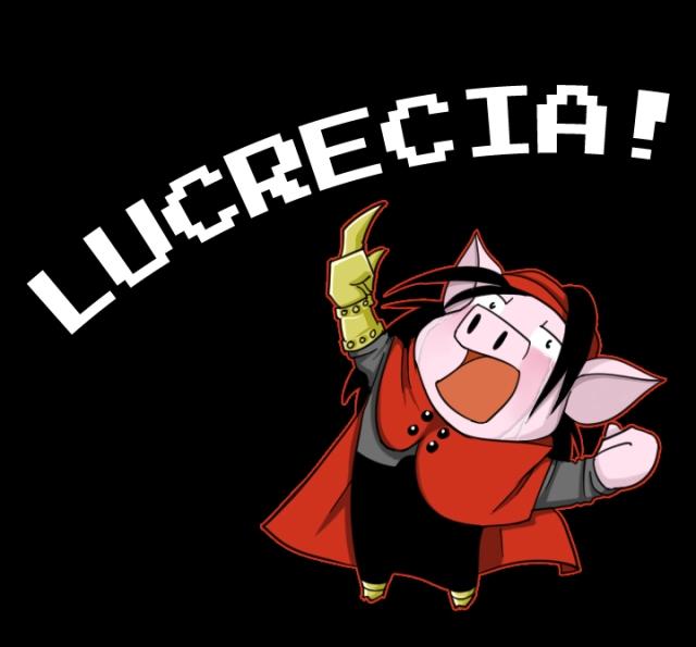 LUCRECIA!